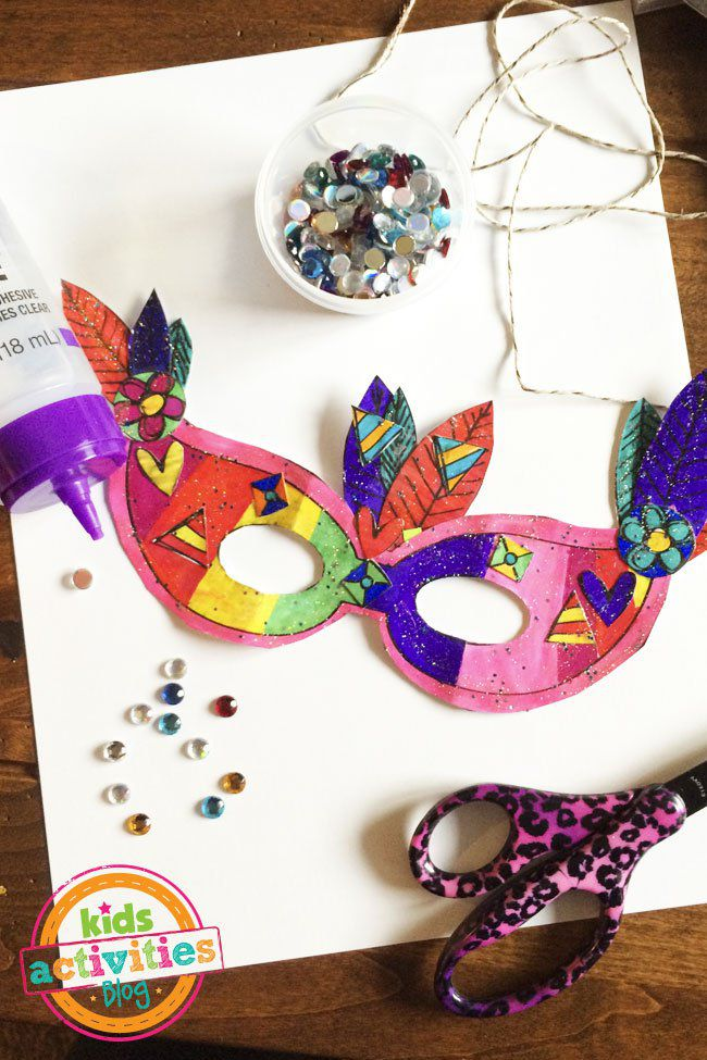 19 free mardi gras mask templates for kids and adults a mardi gras mask and decorating supplies pronofoot35fo Images