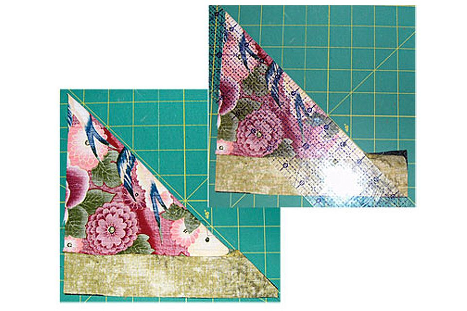 Try This Easy Attic Windows Quilt Block Pattern : easy attic window quilt pattern - Adamdwight.com