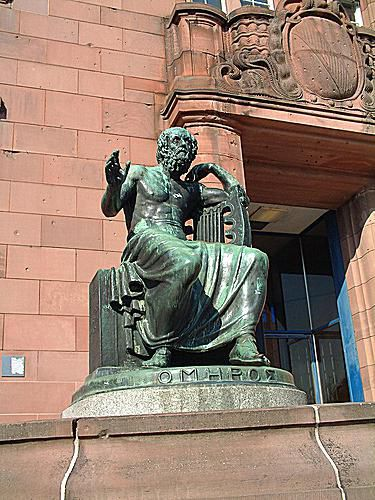 Homer Statue From Freiburg, Germany