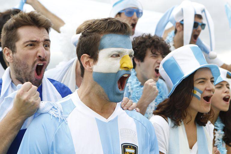Argentina sports fans