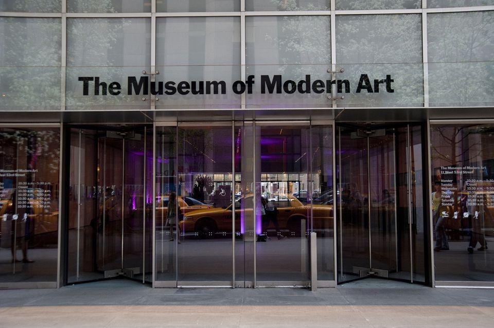 The Museum Of Modern Art, aka MoMA, Manhattan, New York, Usa