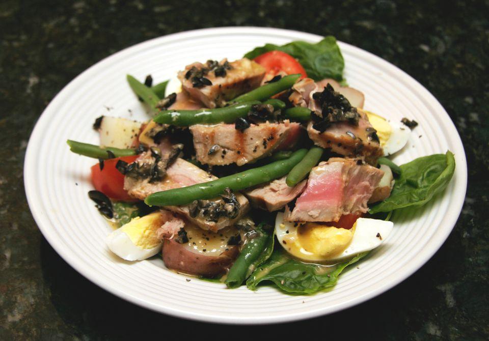 Tuna Salad Nicoise - Fresh Tuna Salad