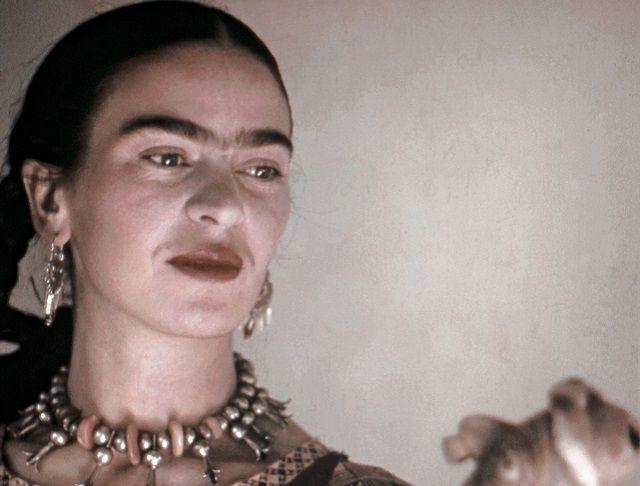 Frida Kahlo, en 1940.