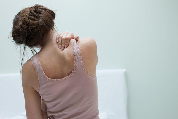 Chronic neck pain.