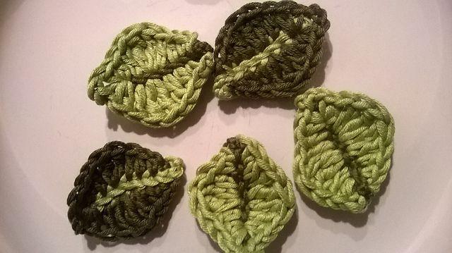 Little Leaf Free Crochet Pattern
