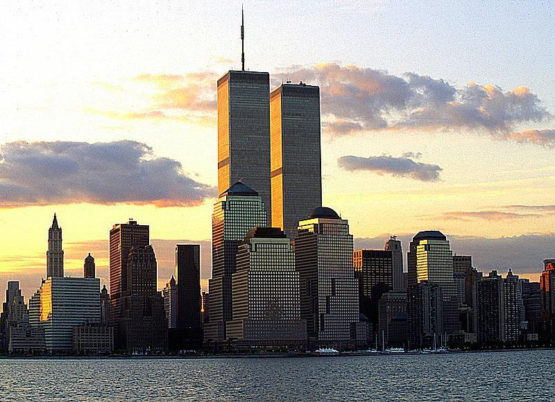 World Trade Center at dawn