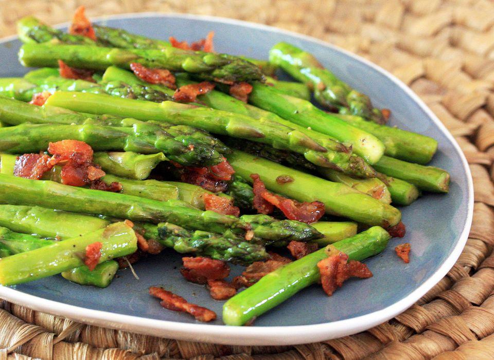 Asparagus With Bacon