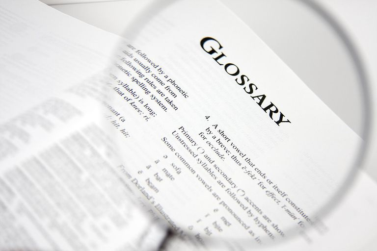 Cryptocurrency Glossary