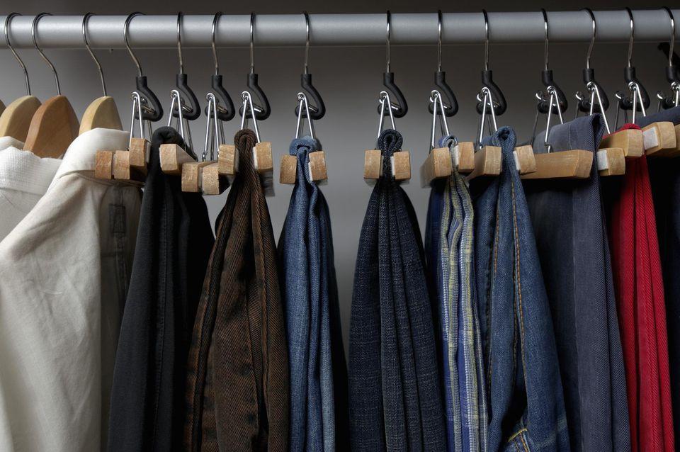 Secrets to organizing your closet