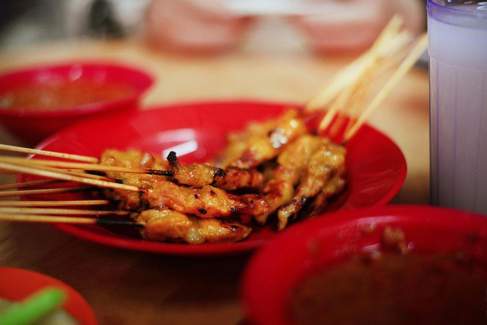Indonesian Pork Satay