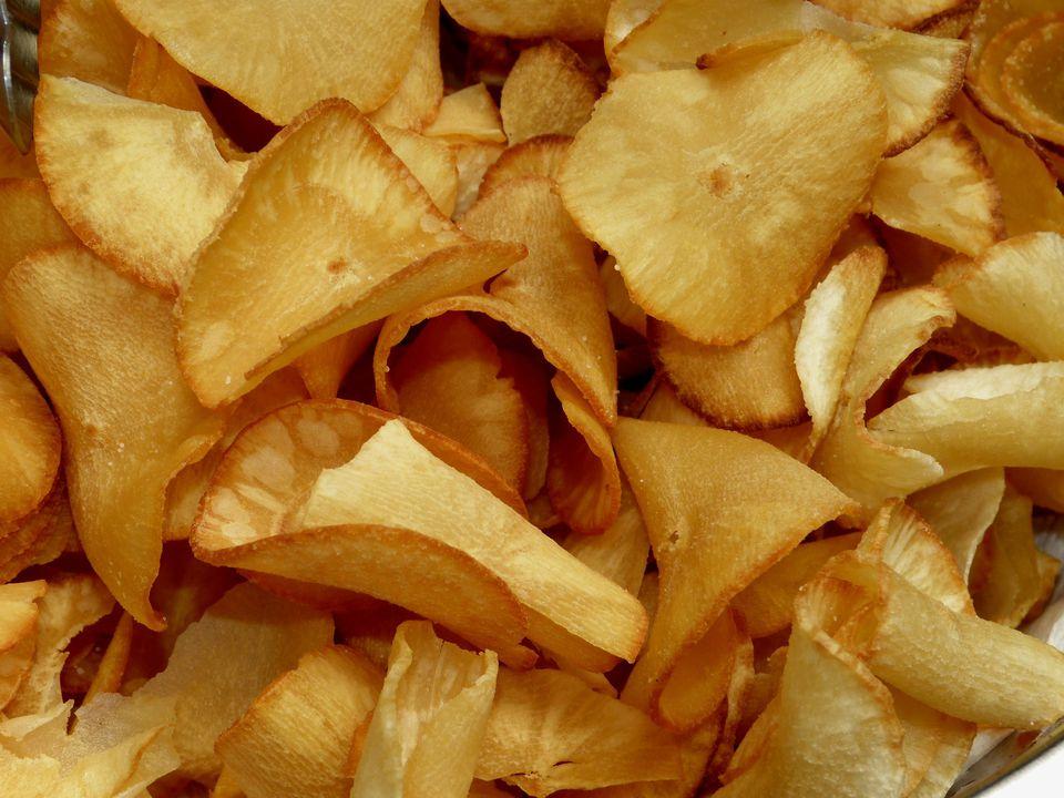 Yuca chips