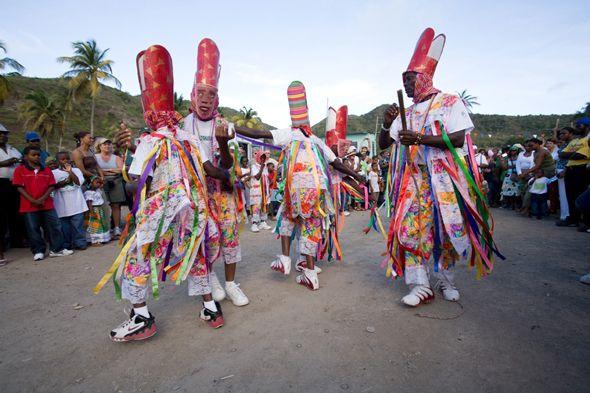 Montserrat street festival