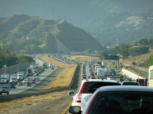 Commuter traffic congestion