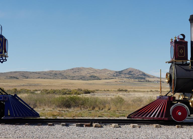 Golden Spike National Monument.