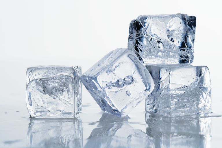 The rate at which ice cubes melt depends on where the ice is and the temperature of the surroundings.