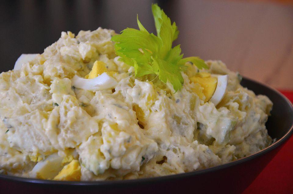 Egg Salad Potato Salad