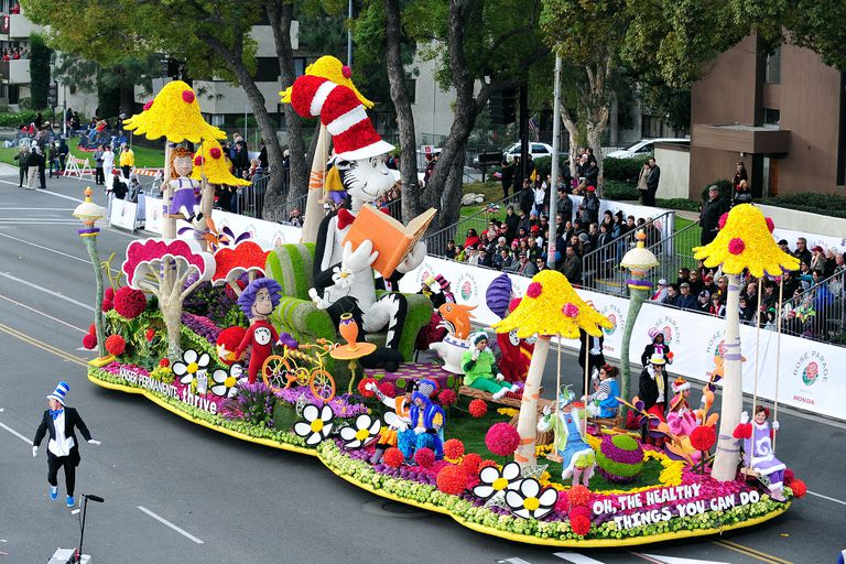 Dr. Seuss float
