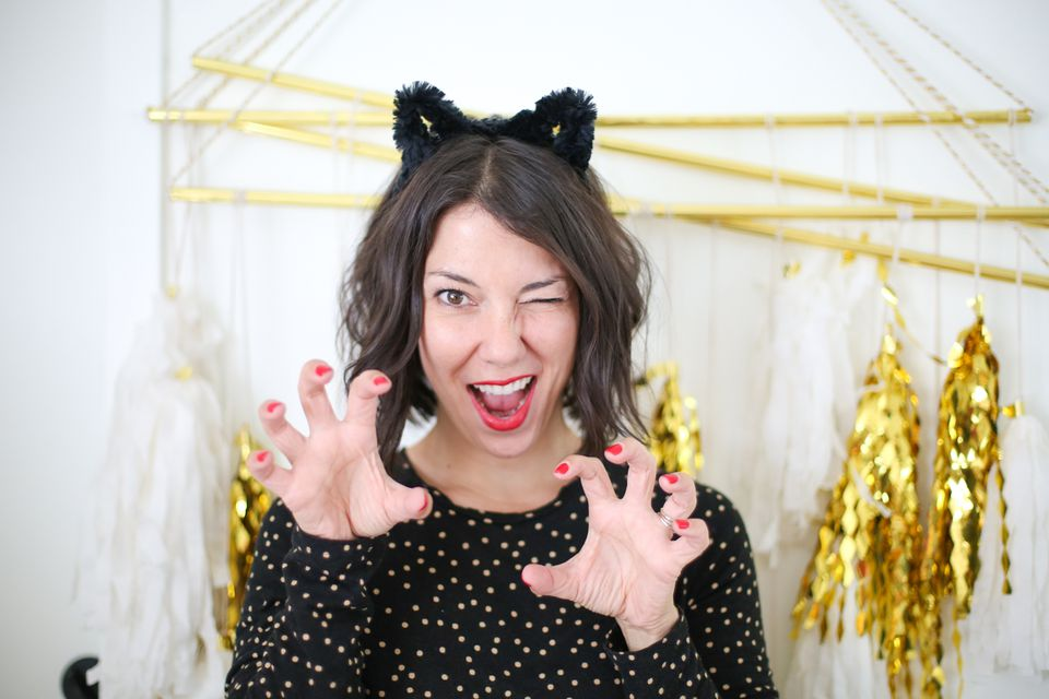 50 easy halloween costumes for adults diy cat ears cat ears solutioingenieria Images