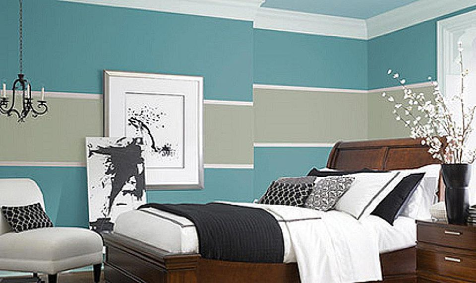 The 10 best blue paint colors for the bedroom for Valspar bedroom paint ideas