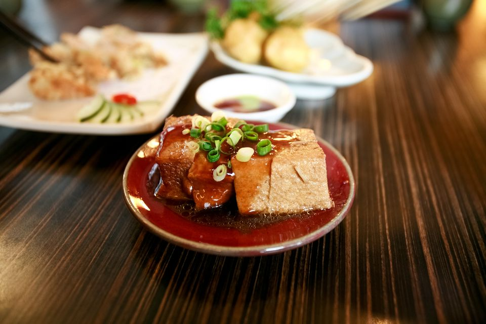Taiwanese Deep Fried Stinking Tofu