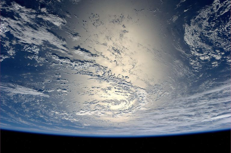 Planet Earth Viewed from the International Space Station