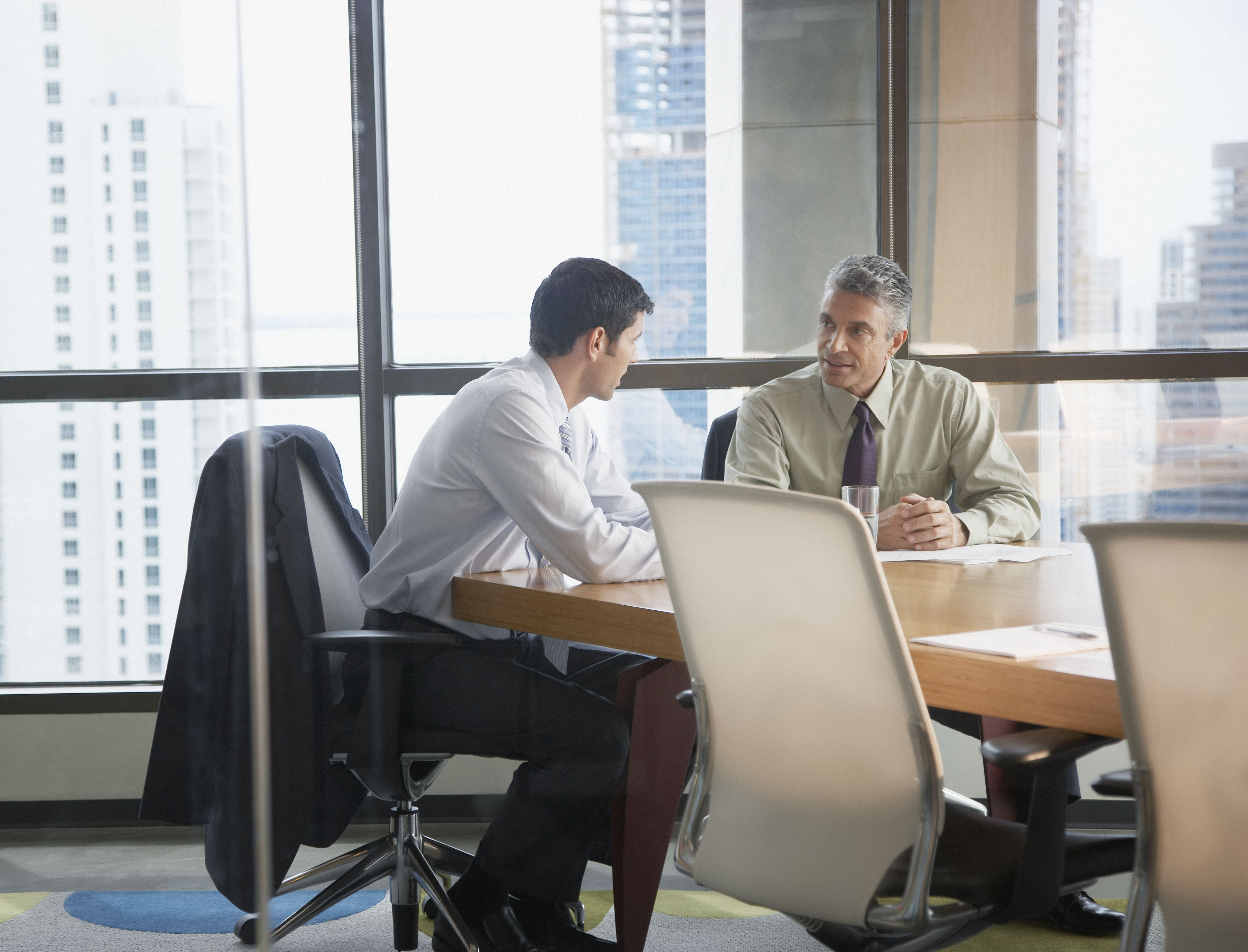 learn about the steps in the job interview process