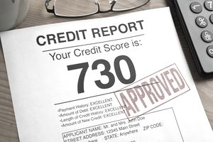 Approved Credit Score.