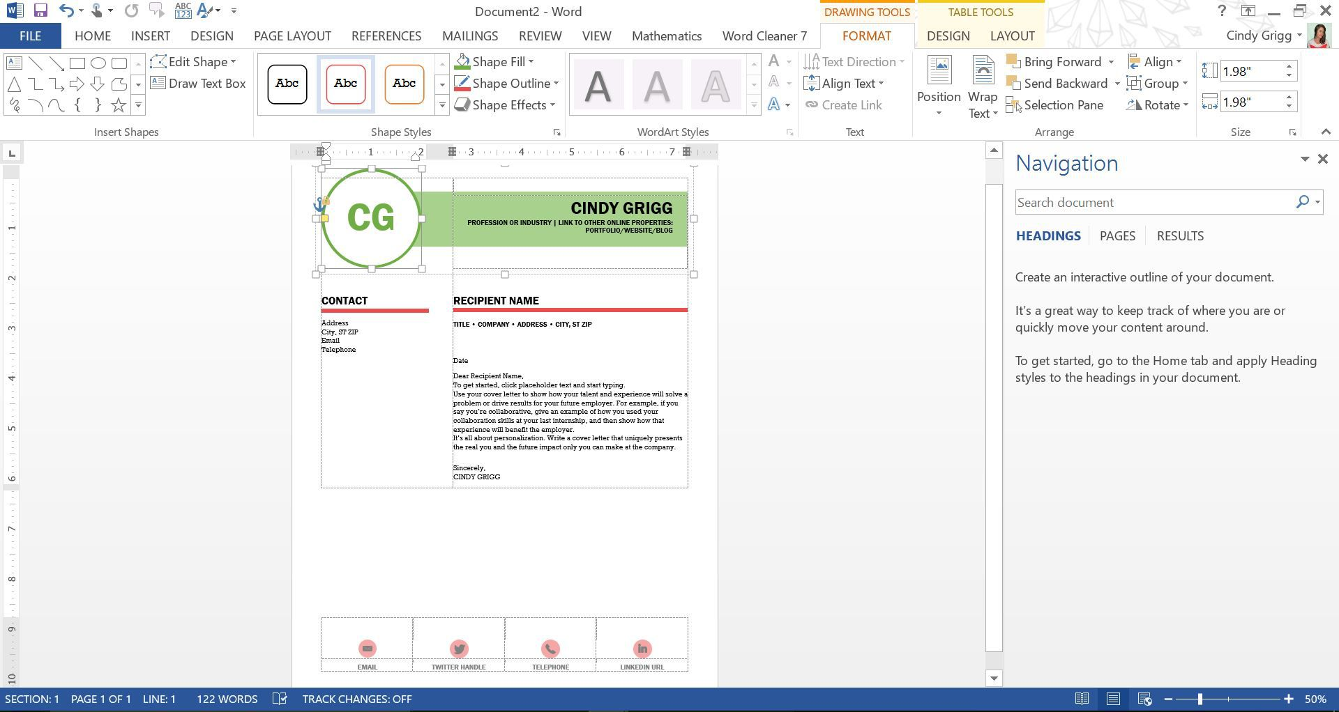 MOO s Digital Resume Templates Help Employers Find You line