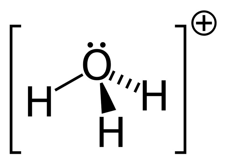hydronium cation