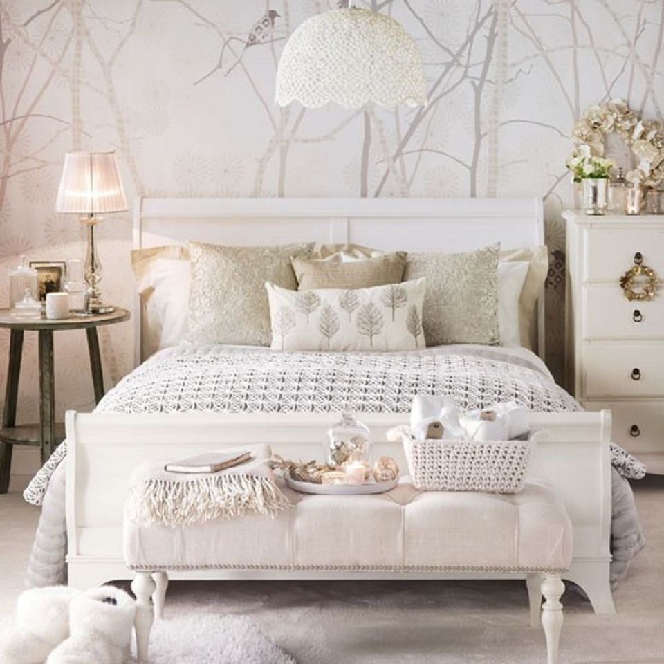 interesting neutral bedroom ideas | Gray and Neutral Bedroom Ideas, Photos and Tips