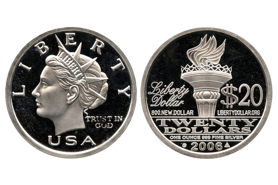 2006 NORFED Liberty Dollar Coin