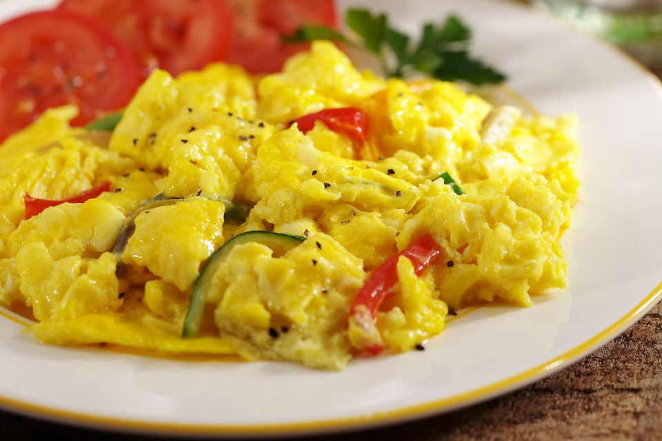 Deluxe Scrambled Eggs