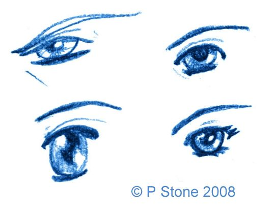Draw a manga face with these easy steps draw manga eyes ccuart Gallery