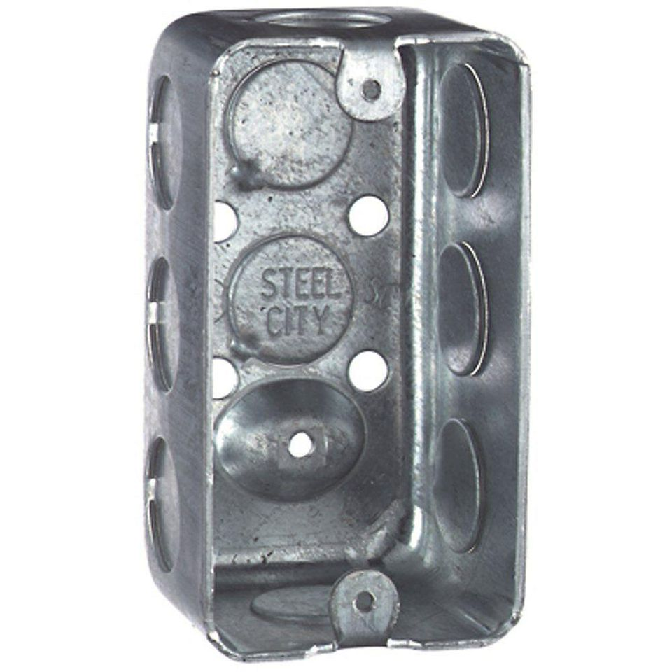 Different Types Of New Work Metal Switch Boxes