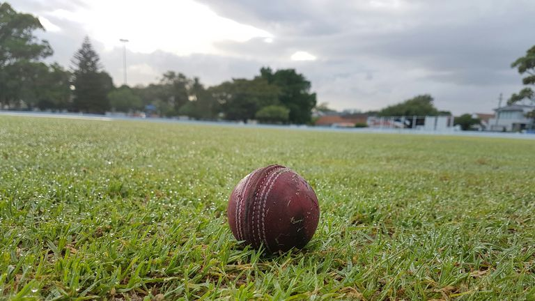 Close-Up Of Ball On Grass
