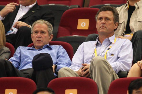 George And Marvin Bush