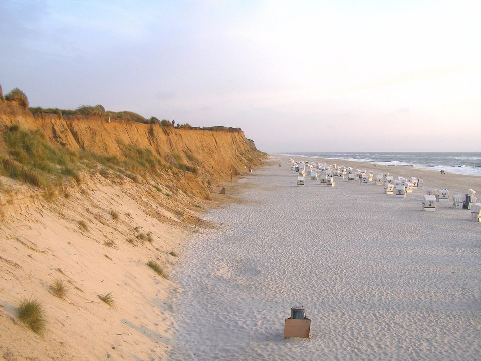 A beach on Sylt, an island in northern Germany