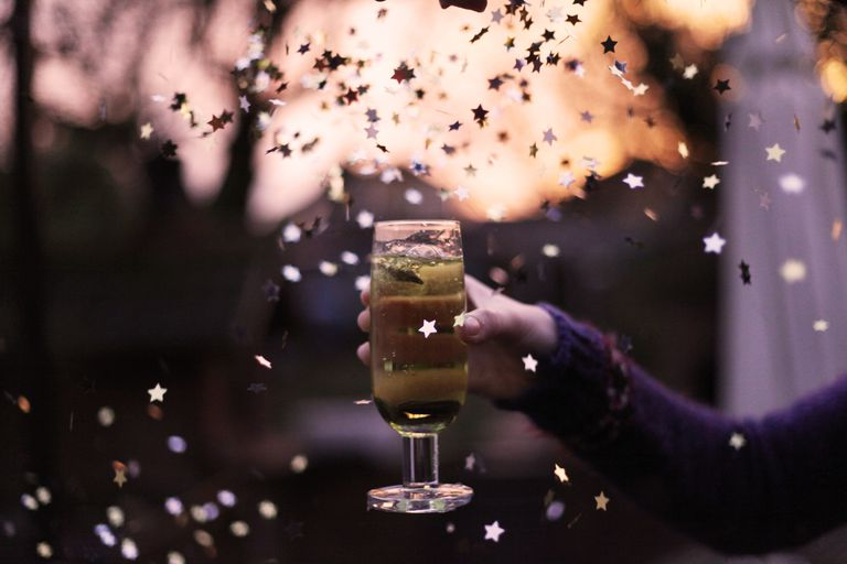 Celebrate the New Year even if you are alone.