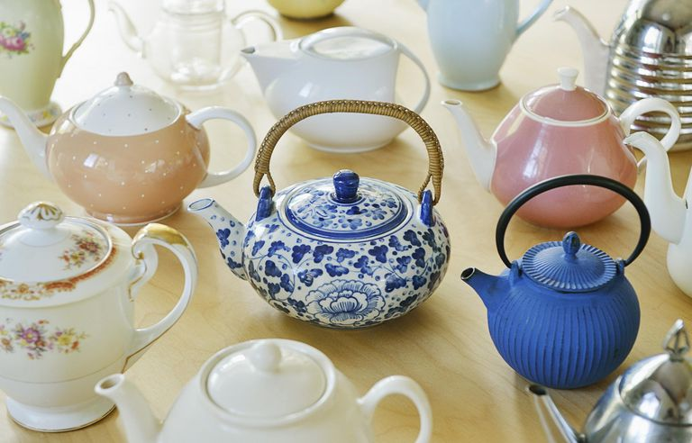 Selection of teapots