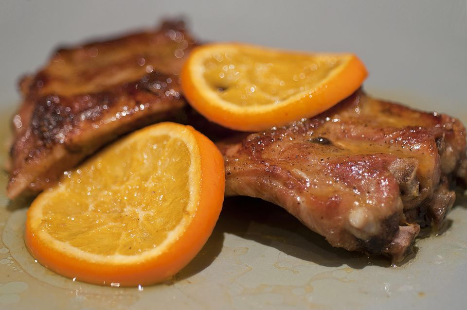 Spicy Sweet Ribs
