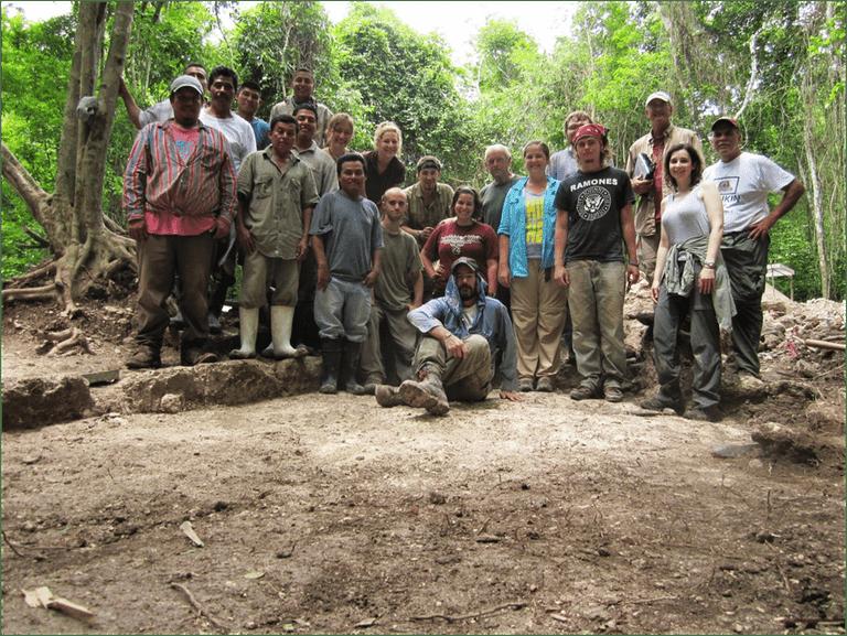 2011 Field Crew at Blue Creek