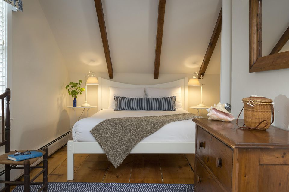 Small attic bedroom.