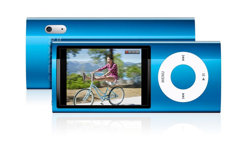 iPod nano video camera
