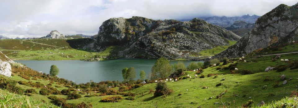 the landscape of Spain