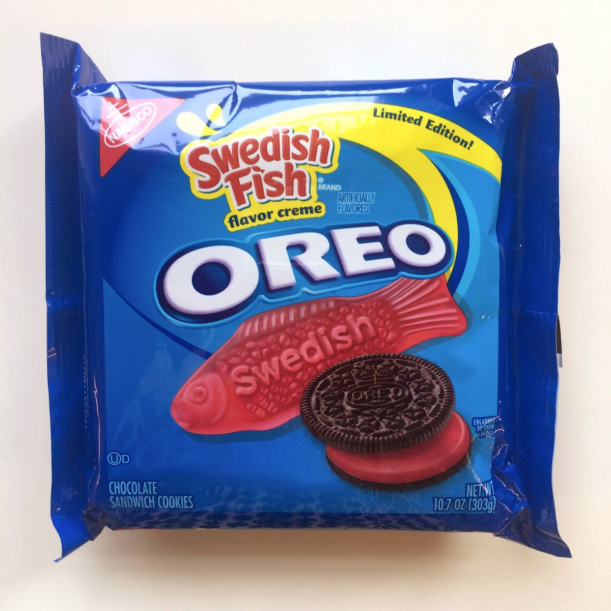 Limited edition swedish fish oreos selling for big money for Swedish fish oreos where to buy