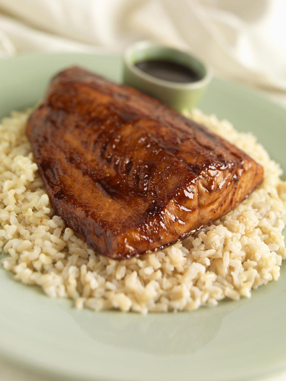Glazed Smoked Salmon
