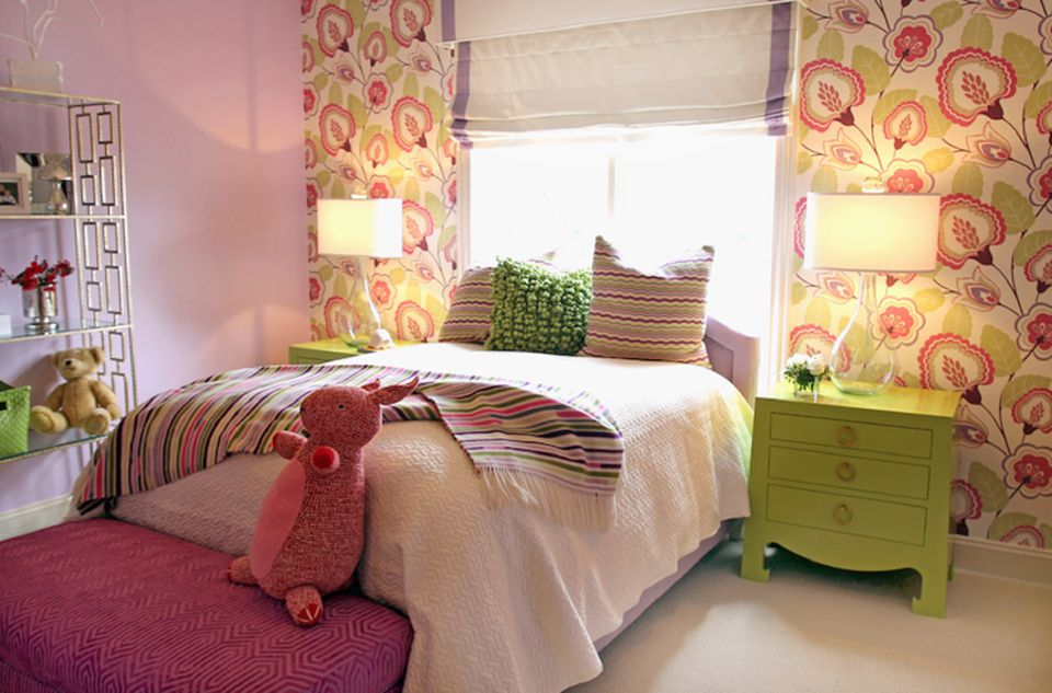 bedroom ideas girl. Bright girl s bedroom Ideas for Decorating a Little Girl Bedroom