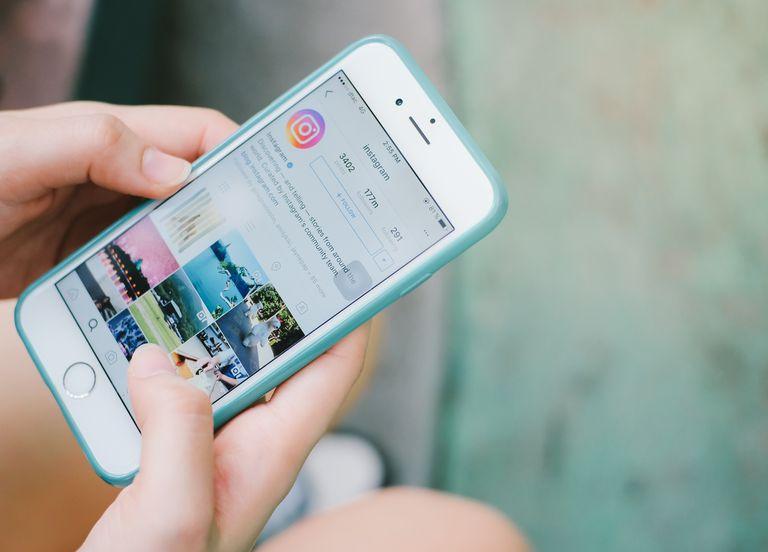 Using Instagram on iPhone