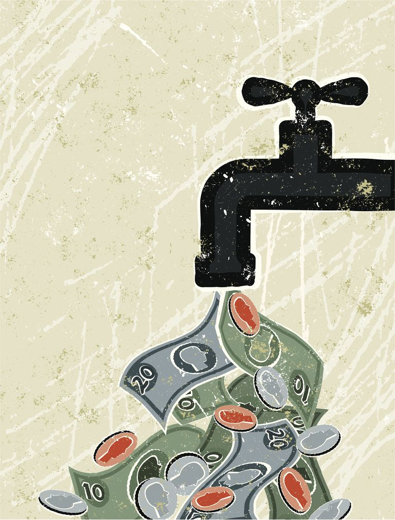 Tap ( Faucet ) and Money