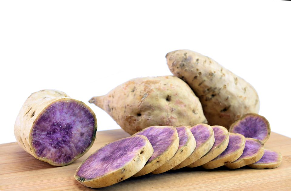 Okinawa sweet potatoes